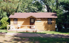 Phillips WI Cabin accommodations